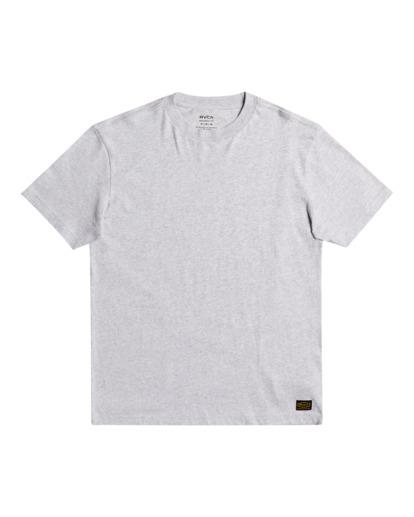 0 Recession - T-shirt pour Homme Gris Z1SSRURVF1 RVCA