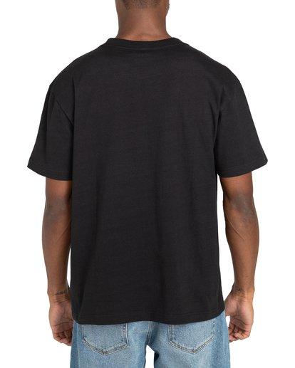3 Recession - T-shirt pour Homme Noir Z1SSRURVF1 RVCA