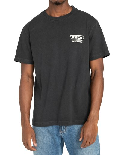 2 Clawed - T-shirt pour Homme Noir Z1SSRWRVF1 RVCA