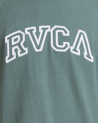 2 Rvca Teamster - T-shirt pour Homme Vert Z1SSSDRVF1 RVCA