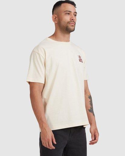 4 Joshua Tree - T-shirt pour Homme Blanc Z1SSSFRVF1 RVCA