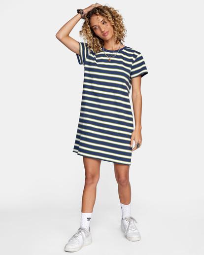 3 Jumpstart - Robe T-shirt pour Femme Bleu Z3DRRDRVF1 RVCA