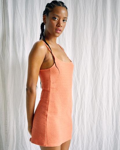 5 Camille Rowe Frankie - Tank Dress for Women Orange Z3DRRQRVF1 RVCA