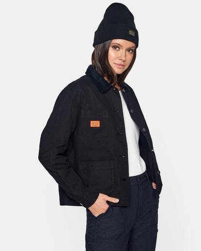 4 Recession - Chore Coat for Women Black Z3JKRKRVF1 RVCA