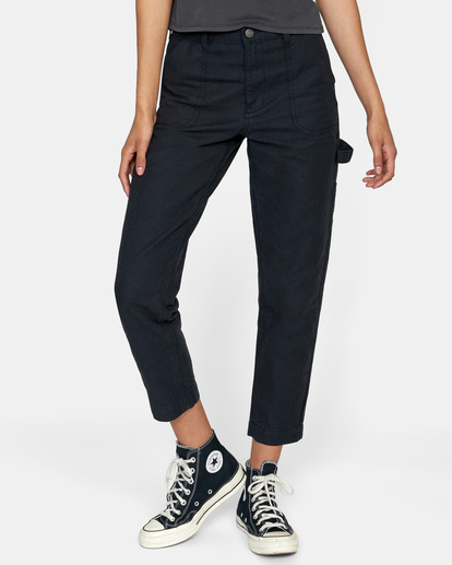 0 Recession - Chinos for Women Black Z3PTRMRVF1 RVCA