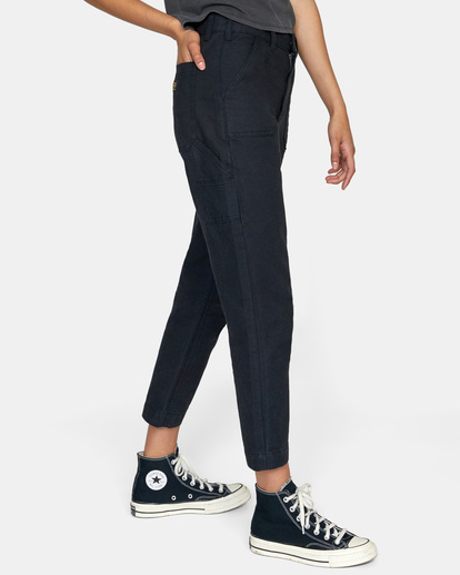 5 Recession - Chinos for Women Black Z3PTRMRVF1 RVCA