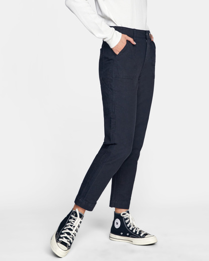 6 Recession - Chinos for Women Black Z3PTRMRVF1 RVCA