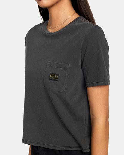 2 Recession Vanagain - Camiseta para Mujer Negro Z3SSSARVF1 RVCA