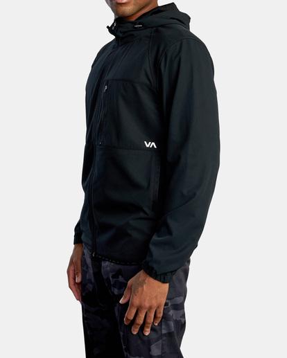 7 VA Sport Yogger II - Chaqueta deportiva para Hombre Negro Z4JKMHRVF1 RVCA