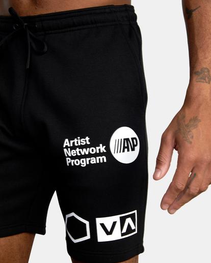 5 VA Sport IV - Short de survêtement pour Homme Noir Z4WKDBRVF1 RVCA