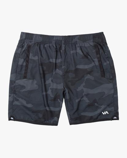0 VA Sport Yogger IV - Short de Entrenamiento para Hombre Camo Z4WKMHRVF1 RVCA