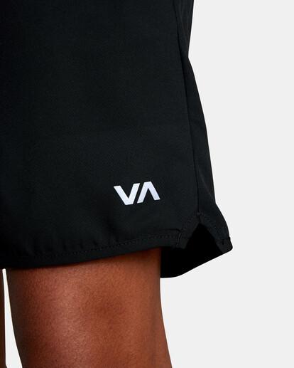 9 VA Sport Yogger IV - Short de Entrenamiento para Hombre Negro Z4WKMHRVF1 RVCA