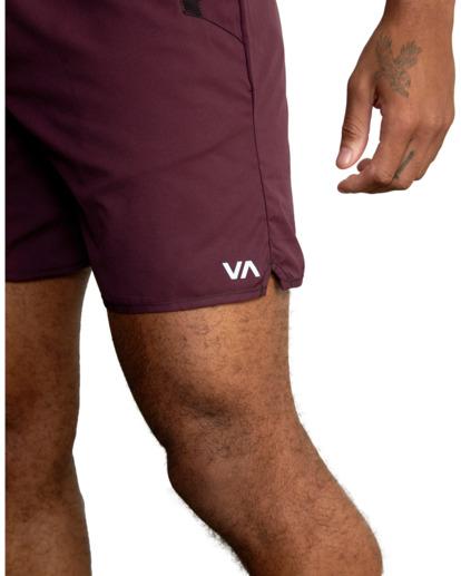 8 VA Sport Yogger IV - Short performance pour Homme Violet Z4WKMHRVF1 RVCA