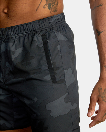 12 VA Sport Yogger IV - Short de Entrenamiento para Hombre Camo Z4WKMHRVF1 RVCA