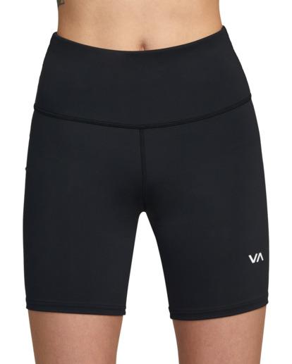 2 VA Essential Bike - Short deportivo para Mujer Negro Z4WKWARVF1 RVCA