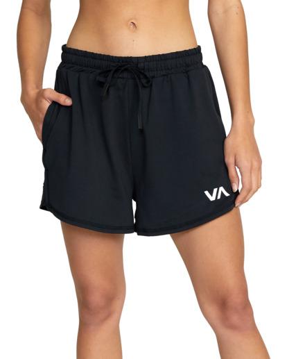 0 Womens Sport Vent - Short deportivo para Mujer Negro Z4WKWDRVF1 RVCA