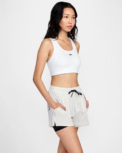 6 Womens Sport Vent - Short deportivo para Mujer Beige Z4WKWDRVF1 RVCA