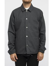 0 WRENCHMAN COACHES JACKET Gris A1JKRCRVW6 RVCA