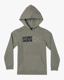 1 DIVIDED HOODIE  AVBFT00101 RVCA