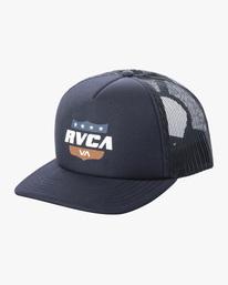 0 Boy's Rodeo Trucker Hat Blue AVBHA00114 RVCA