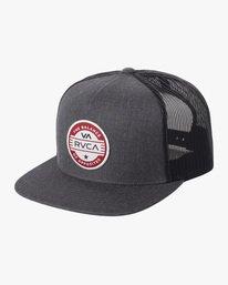0 Boy's Interstate Trucker Hat  AVBHA00118 RVCA