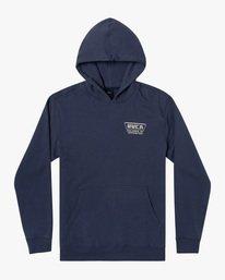 0 Boy's Clawed Pullover Hoodie Blue AVBSF00104 RVCA