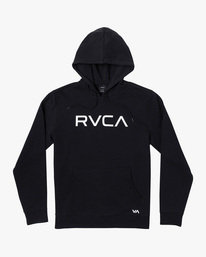 0 Boy's Big RVCA Pullover Hoodie Black AVBSF00108 RVCA