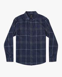 0 Boy's Blues Walk Long Sleeve Corduroy Shirt  AVBWT00126 RVCA