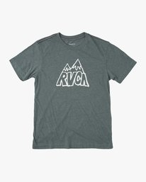 0 BOY'S SUMMIT SHORT SLEEVE TEE Purple AVBZT00127 RVCA