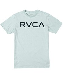 0 BOY'S BIG RVCA SHORT SLEEVE TEE Green AVBZT00147 RVCA
