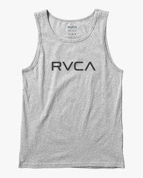 0 BOY'S BIG RVCA TANK TOP Red AVBZT00149 RVCA