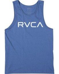 0 BOY'S BIG RVCA TANK TOP Blue AVBZT00149 RVCA
