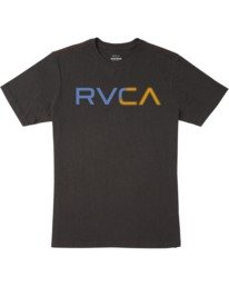 0 Boy's Scanner Short Sleeve Tee Black AVBZT00173 RVCA
