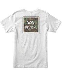 1 Boy's VA All The Way Short Sleeve Tee White AVBZT00180 RVCA