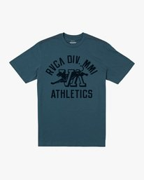0 Boy's RVCA Athletic Short Sleeve Tee  AVBZT00214 RVCA