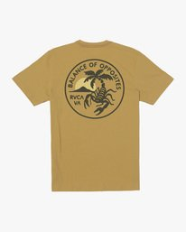 1 Boy's Stinger Short Sleeve Tee Multicolor AVBZT00215 RVCA