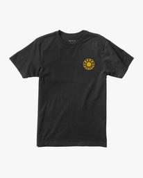 0 RVCA Hawaii | Boy's Hawaii Happy Sun Short Sleeve Tee Black AVBZT00239 RVCA