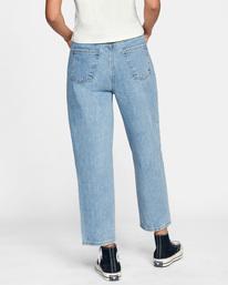 2 Daisy High-Rise Denim Pants Multicolor AVJDP00103 RVCA