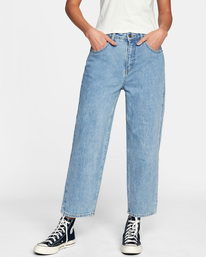 1 Daisy High-Rise Denim Pants Multicolor AVJDP00103 RVCA