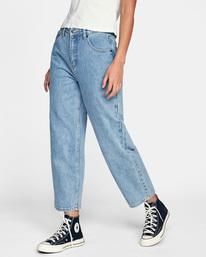 5 Daisy High-Rise Denim Pants Multicolor AVJDP00103 RVCA