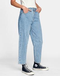 7 Daisy High-Rise Denim Pants Multicolor AVJDP00103 RVCA