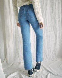 2 Camille Rowe | Livin Denim Pants Blue AVJDP00104 RVCA