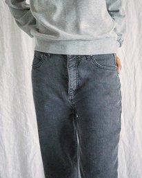 2 Camille Rowe | Pops Denim Pants Beige AVJDP00105 RVCA