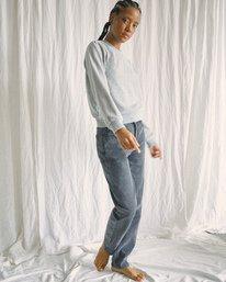 3 Camille Rowe | Pops Denim Pants Beige AVJDP00105 RVCA