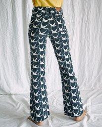 2 Camille Rowe | Livin Corduroy Pants Black AVJDP00106 RVCA