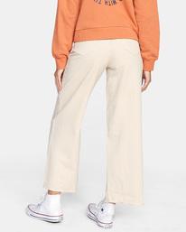 1 Fresh Prince Cropped Corduroy Pants Yellow AVJDP00107 RVCA