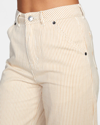 2 Fresh Prince Cropped Corduroy Pants Yellow AVJDP00107 RVCA