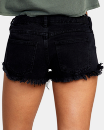 9 Traveller Denim Shorts Black AVJDS00103 RVCA
