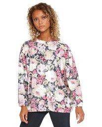 0 Rosebud Fleece Pullover  AVJFT00120 RVCA