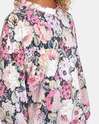 6 Rosebud Fleece Pullover  AVJFT00120 RVCA